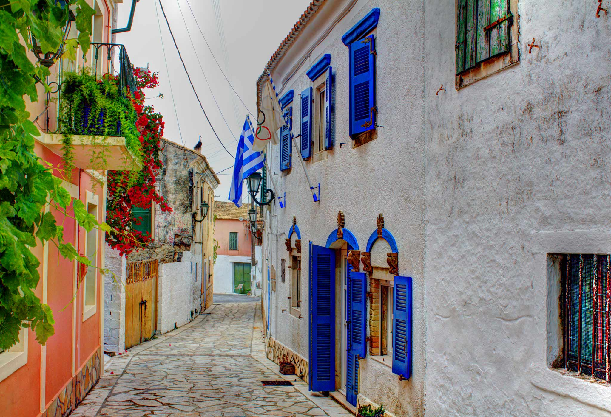 Lakones Village - Corfu Island